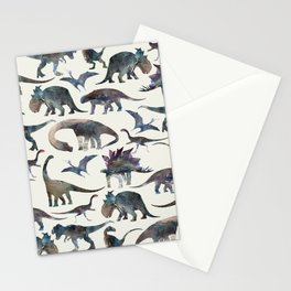 Dinosaurs Pattern Stationery Cards