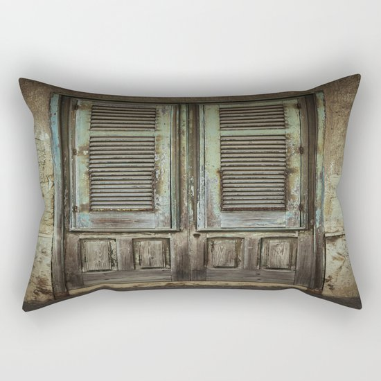 Italian Door III Rectangular Pillow