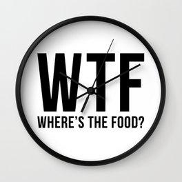 WTF Wall Clock