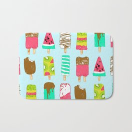 Ice Cream Time Bath Mat