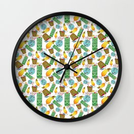 Tiki Bar Wall Clock