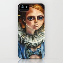 'High Diver' by Zelyss iPhone Case