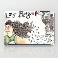 los angeles iPad Cases featuring Los Angeles by Brooke Weeber