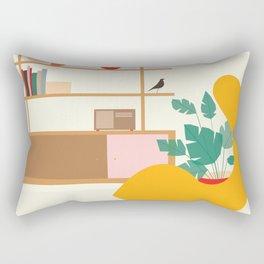 Inside mid century modern 321 Rectangular Pillow