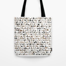 Dogs, Dogs and dogs Tote Bag