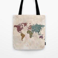 Paisley World Tote Bag