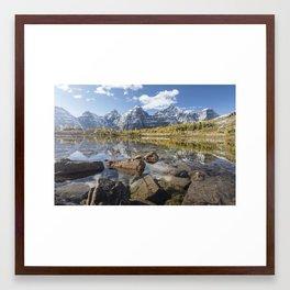 Larch Valley Framed Art Print