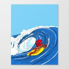 octosurfer Canvas Print