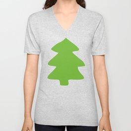 Evergreen Forest Pattern Unisex V-Neck