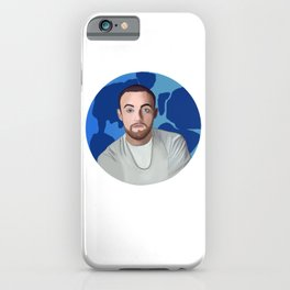 Mac Miller- Blue World iPhone Case