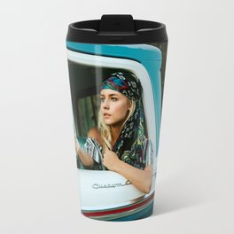 Girl Mirror Travel Mug