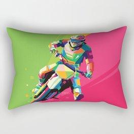 Motocross Top-notch WPAP #2 Rectangular Pillow