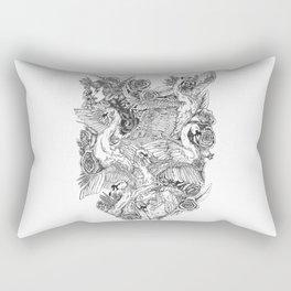 The Six Swans Rectangular Pillow
