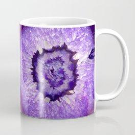 Purple Agate Geode Coffee Mug