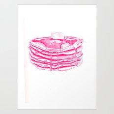 Pancakes Art Print