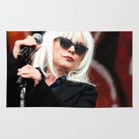 blondie Area & Throw Rugs featuring Blondie by Euan Anderson
