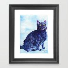Spot the Cat Framed Art Print