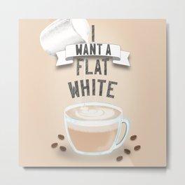 For the coffee addict Metal Print