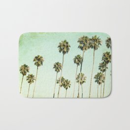 Palm Trees (California Dreaming III) Bath Mat