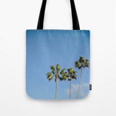 California in the Palm of your Hands Tote Bag