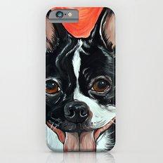 Boston Terrier Dog Art iPhone 6s Slim Case