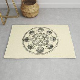 Horoscope Astral Wheel Rug