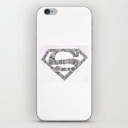 Super Symbol Doodle iPhone Skin