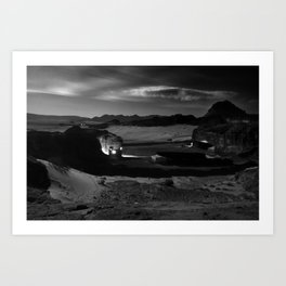 Untitled: Full Moon Art Print