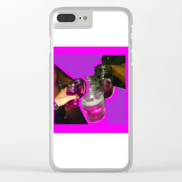 Lean of the third world Clear iPhone Case