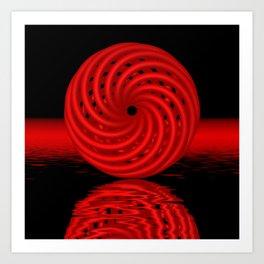 knotted circles -1- Kunstdrucke