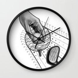 Golf swing Wall Clock