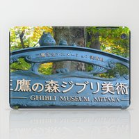 studio ghibli iPad Cases featuring STUDIO GHIBLI MUSEUM - MITAKA, JAPAN by JCM Art