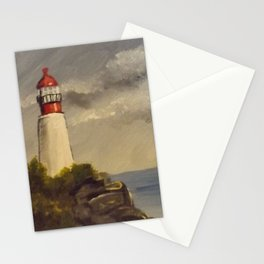 Rocky Point Lighthouse Stationery Cards