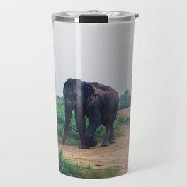 Elephant in Udawalawe National Park, Sri Lanka Travel Mug