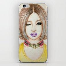 Minzy Gong (2NE1) iPhone & iPod Skin