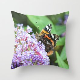 Butterfly XII Throw Pillow