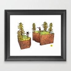 The Abyss Framed Art Print