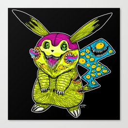 Go Monster Canvas Print