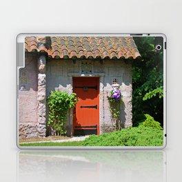 Lourdes University-  Portiuncula  Chapel Door with Clematis Laptop & iPad Skin