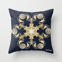 Superluna Throw Pillow