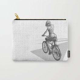 Fille à vélo Carry-All Pouch