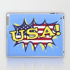 USA POW flag starburst Laptop & iPad Skin