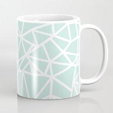 Ab Outline Thick Mint Mug