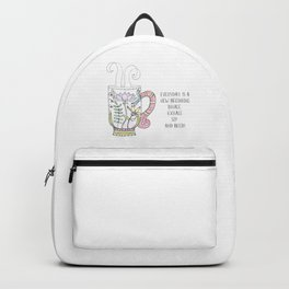 Inhale, Exhale and Sip Backpack