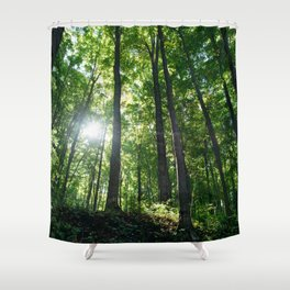 Fear Nothing Shower Curtain