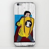 dungeons and dragons iPhone & iPod Skins featuring DUNGEONS & DRAGONS - ERIC by Zorio
