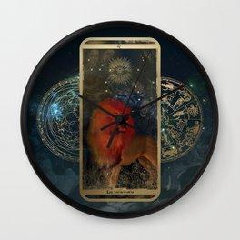Zodiac : Leo Wall Clock