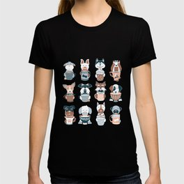 Doggie Coffee and Tea Time II T-shirt
