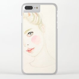 Cathy Clear iPhone Case