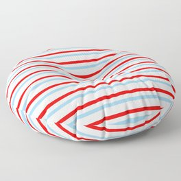 Mariniere and flag - Netherland Floor Pillow